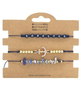musthaves Bracelet Set 3pcs musthaves