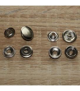 set 15 mm sluitdrukkers voor leren minibanden
