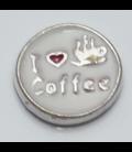 Charm I love Coffee