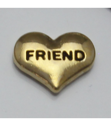Charm friend (goud)