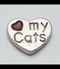 Charm Love my Cats