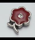 Charm bloem rood