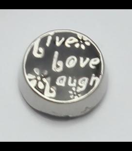 Charm Live love laugh (klein)