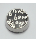 Charm Live love laugh (klein)
