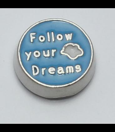 Charm Follow your dream blauw