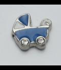 Charm Kinderwagen blauw