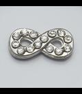 Charm infinity zilver