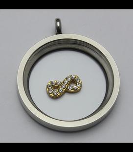 Charm infinity goud