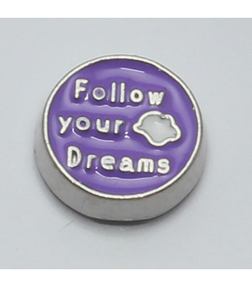 Charm Follow your dream paars