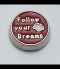 Charm Follow your dream rood