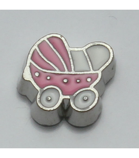 Charm kinderwagen roze
