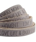band Love Life Taupe grijs