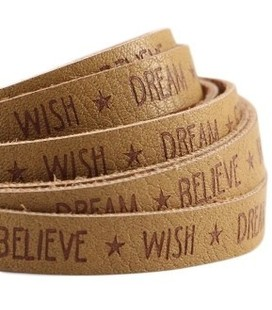 band  Wish Dream..Mustard brown