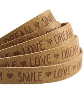 band  Love Dream Mustard brown