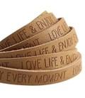 band  Love Life Mustard brown