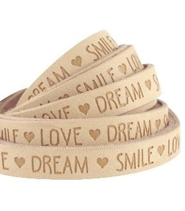 band LOVE LIFE ALMOND BEIGE BROWN