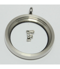 Charm zilver F