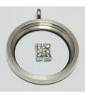 Charm zilver H