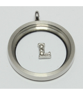 Charm zilver L