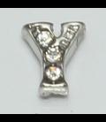 Charm zilver Y