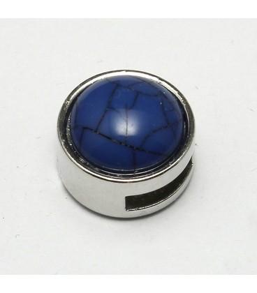 cuoio schuiver 8mm donkerblauw