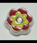 Charm bloem rood/geel