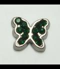 Charm Vlinder smaragt
