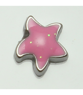 Charm ster roze