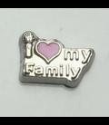 Charm I love my family