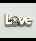 Charm LOVE strass