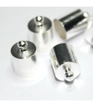 20  eind kapjes 4mm x 9.5mm  gat 3.5mm
