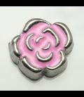 Charm bloem roze