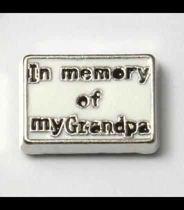 Charm In memory of my Grandpa