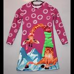 jurkje met lange mouwen Giraffe