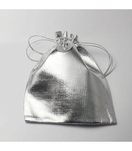 lux  zakje zilver 9.5x12cm