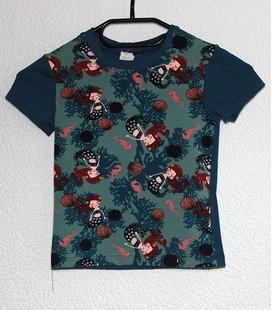 Shirt korte mouwen Zeemeermin