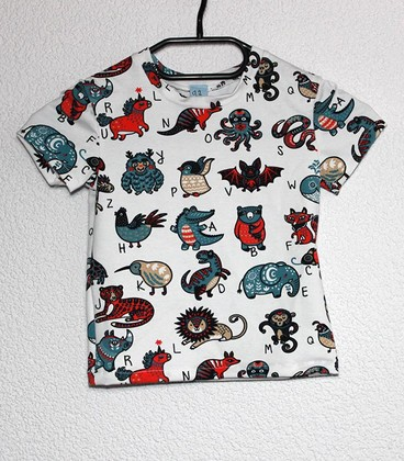 Shirt korte mouwen Dieren