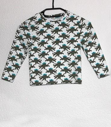 Shirt met lange mouwen Octopus