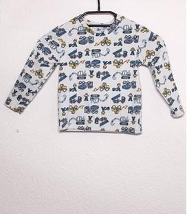 Shirt met lange mouwen Bouwmachines