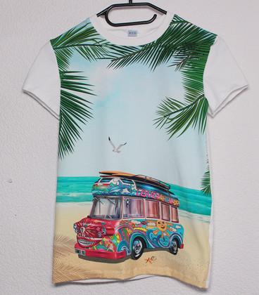Shirt met lange mouwen  'Peace'