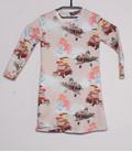 Shirt met lange mouwen 'Vliegen' met poppenjurkje