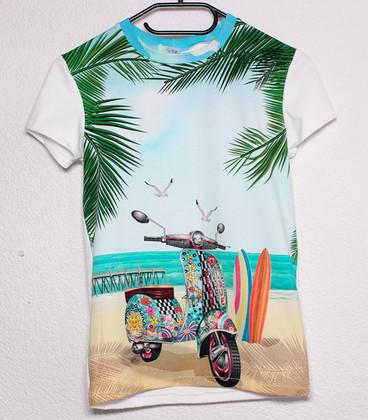 Shirt met korte mouwen  'Scooter'