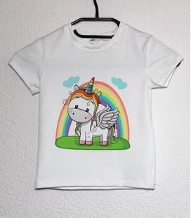 Shirt korte mouwen Eenhoorn
