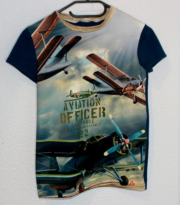 shirt korte mouwen Aviator
