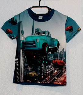 shirt korte mouwen Flying Car