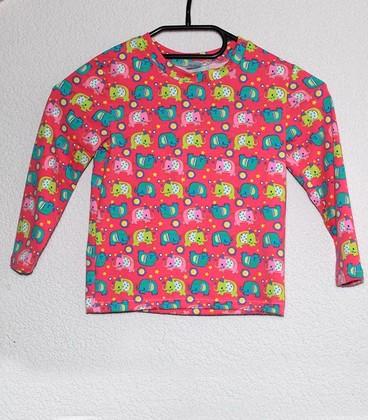 Shirt met lange mouwen Olifantjes