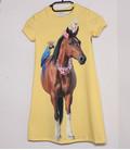 jurkje met korte mouwen 'Paard'