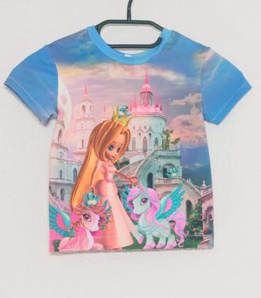 Shirt korte mouwen Prinses 1