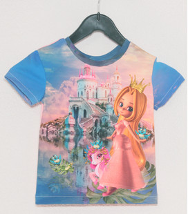 Shirt korte mouwen Prinses 2