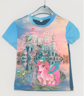 Shirt korte mouwen Unicorn